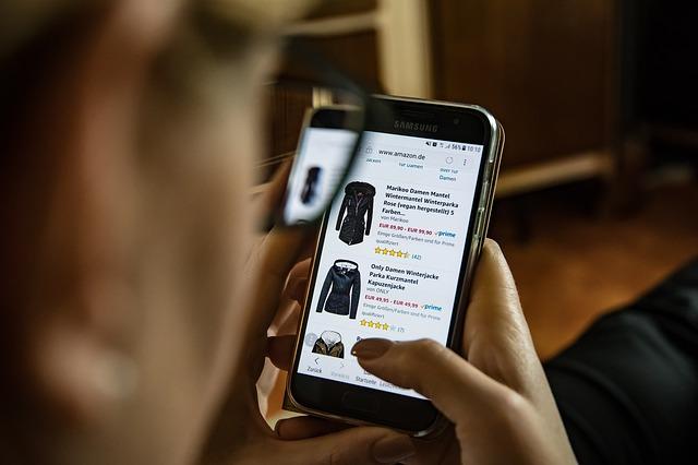 online nákupy oblečení