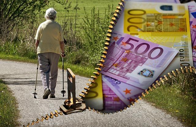 peníze na důchod