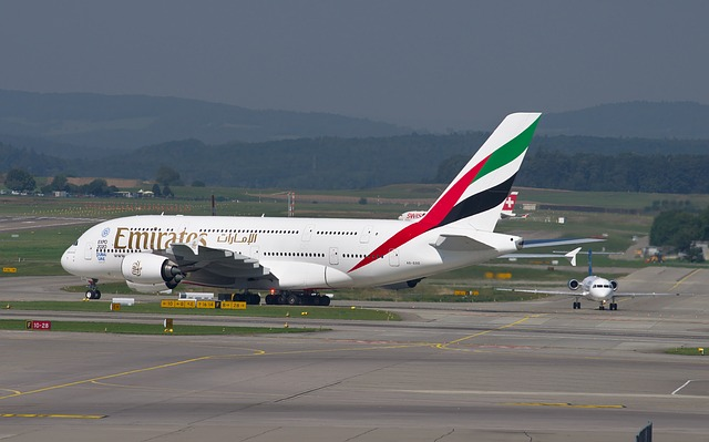 Airbus A380 společnosti Emirates